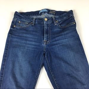 7 For All Mankind Jeans - 7 For All Mankind b(air) The Ankle Raw Hem Jeans